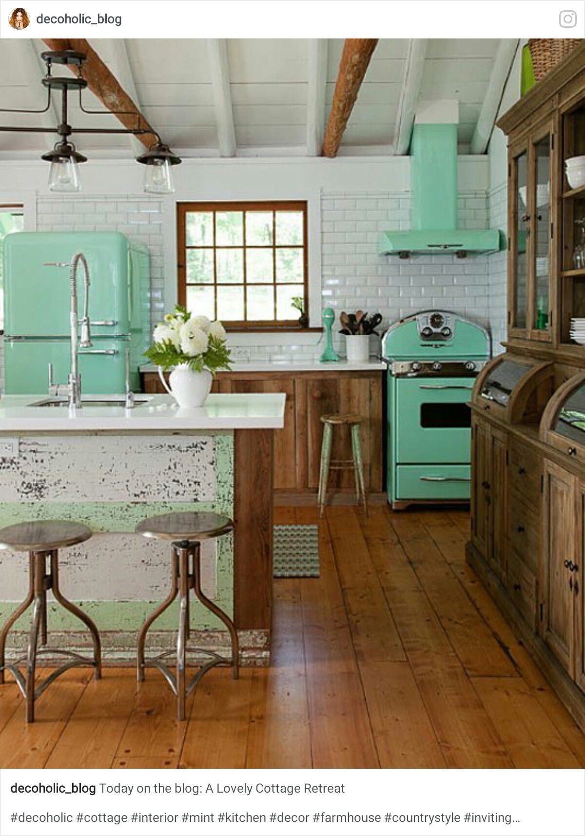 Pin von Yonnie Smith auf Stylish Kitchens - The Farmhouse/Country ...