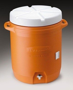 10 Gallon Industrial Water Cooler Water Coolers Rubbermaid Foam Insulation