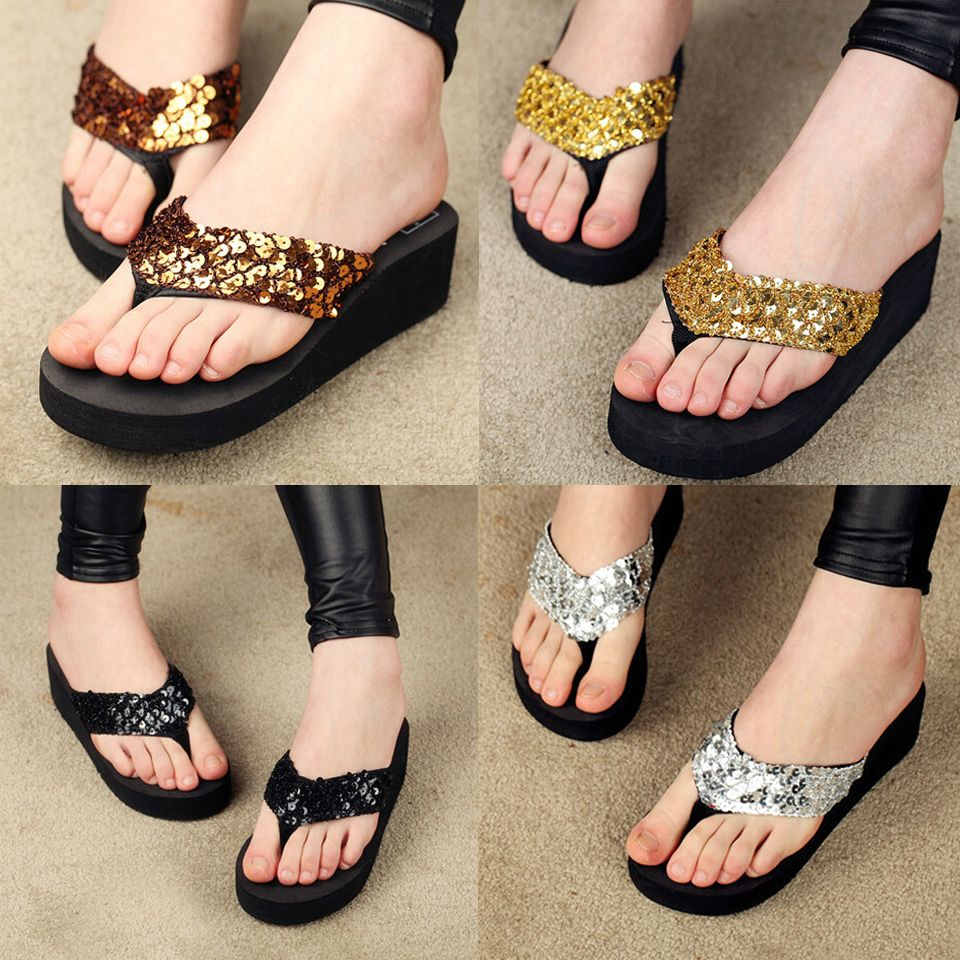 Shoes sandals flip flops - 2015 Summer Fashion Women Sandal Beach Home Flip Flops Slippers Female Flat Sandals 5 9