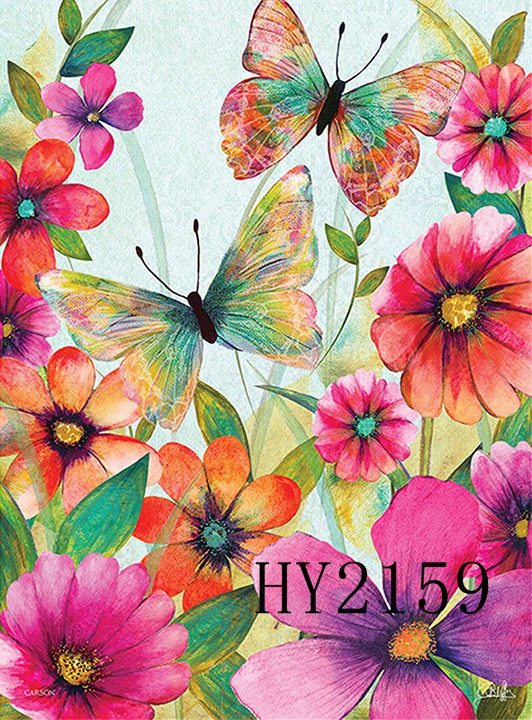 746x1010 Watercolor Flowers Butterfly Garden Flag House Decorative Flags Butterfly Painting Butterfly Background Watercolor Flowers Paintings