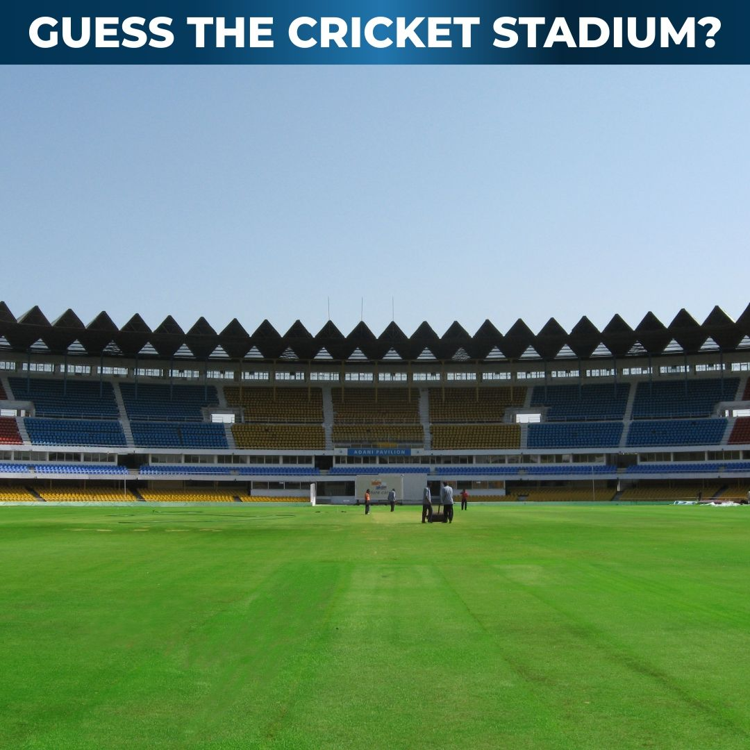 An Easy One This Time Guess The Name Of This Stadium And Flaunt Your Sports Knowledge Sportsmatik Guess Cricket Stadium Game P C A In 2020 Stadium Sports Guess