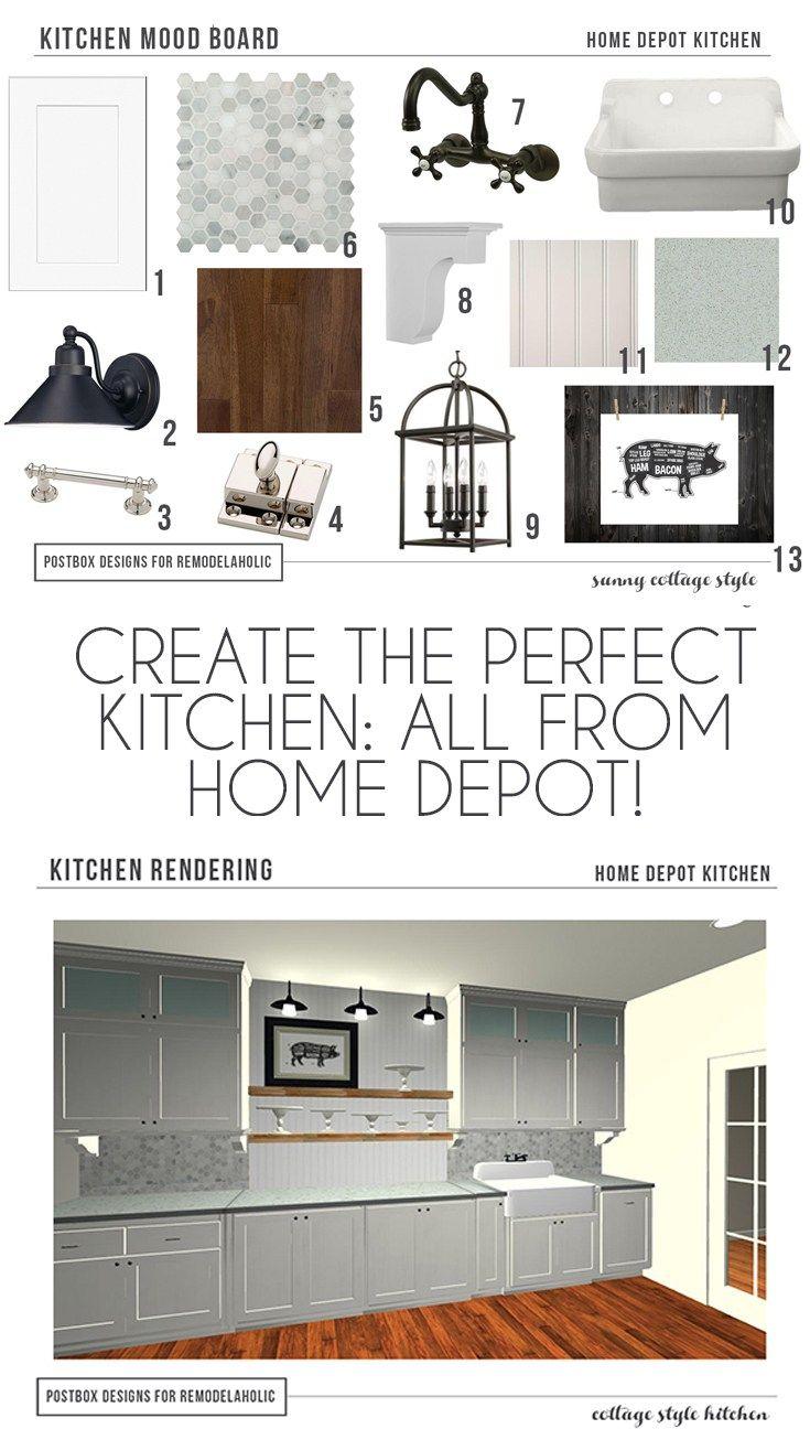 Ungewöhnlich Küchendesign Home Depot Zeitgenössisch - Ideen Für Die ...