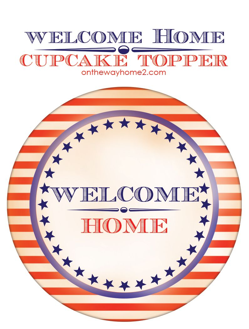Military Homecoming Ideas (with a free printable) | FREE PRINTABLES ...