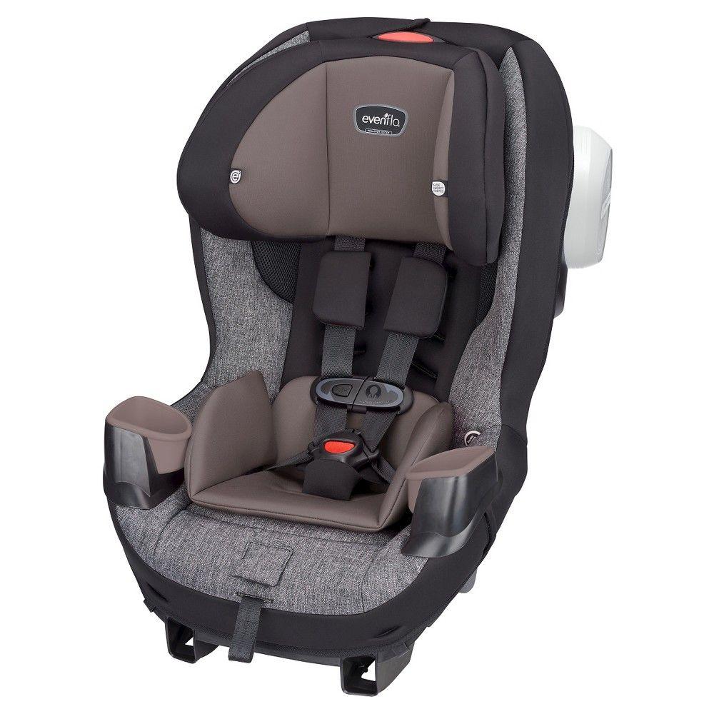 Evenflo proseries stratos convertible car seat maxton tweed