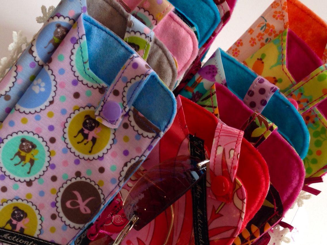Brillen Etuis oder je nach Größe auch als Handy Tasche verwendbar ...