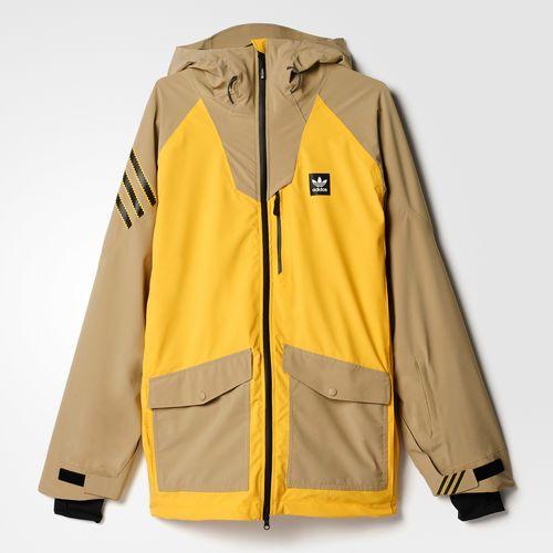 Major Stretchin' It Jacket Yellow