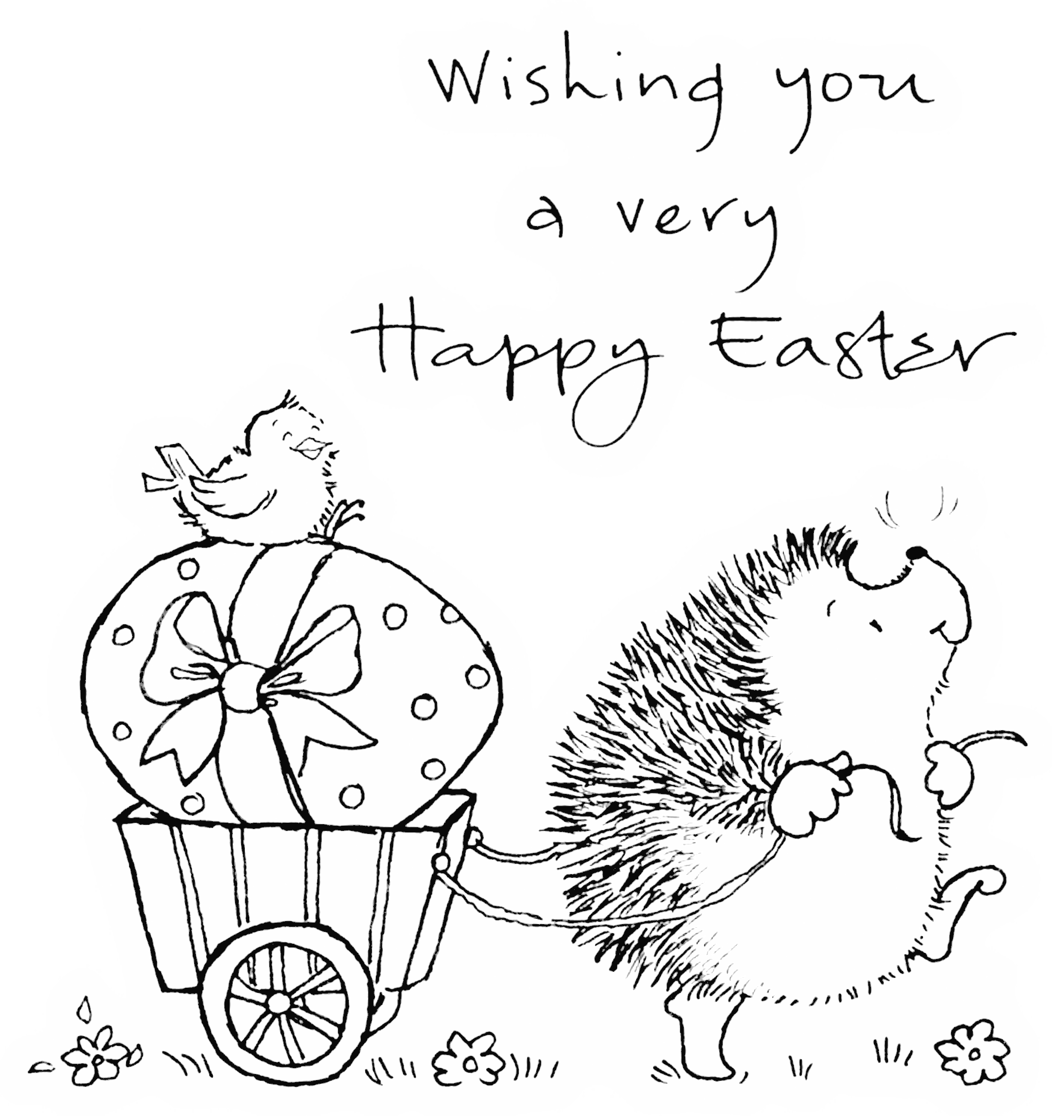 Easter March. Coloring pages for the kiddos. | kids stuff ...