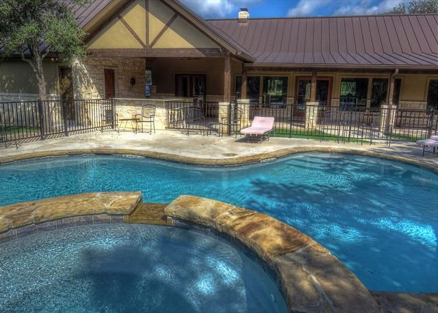 Concan Tx United States A Stone S Throw Swimming Pools River Cabin Resort Cabins