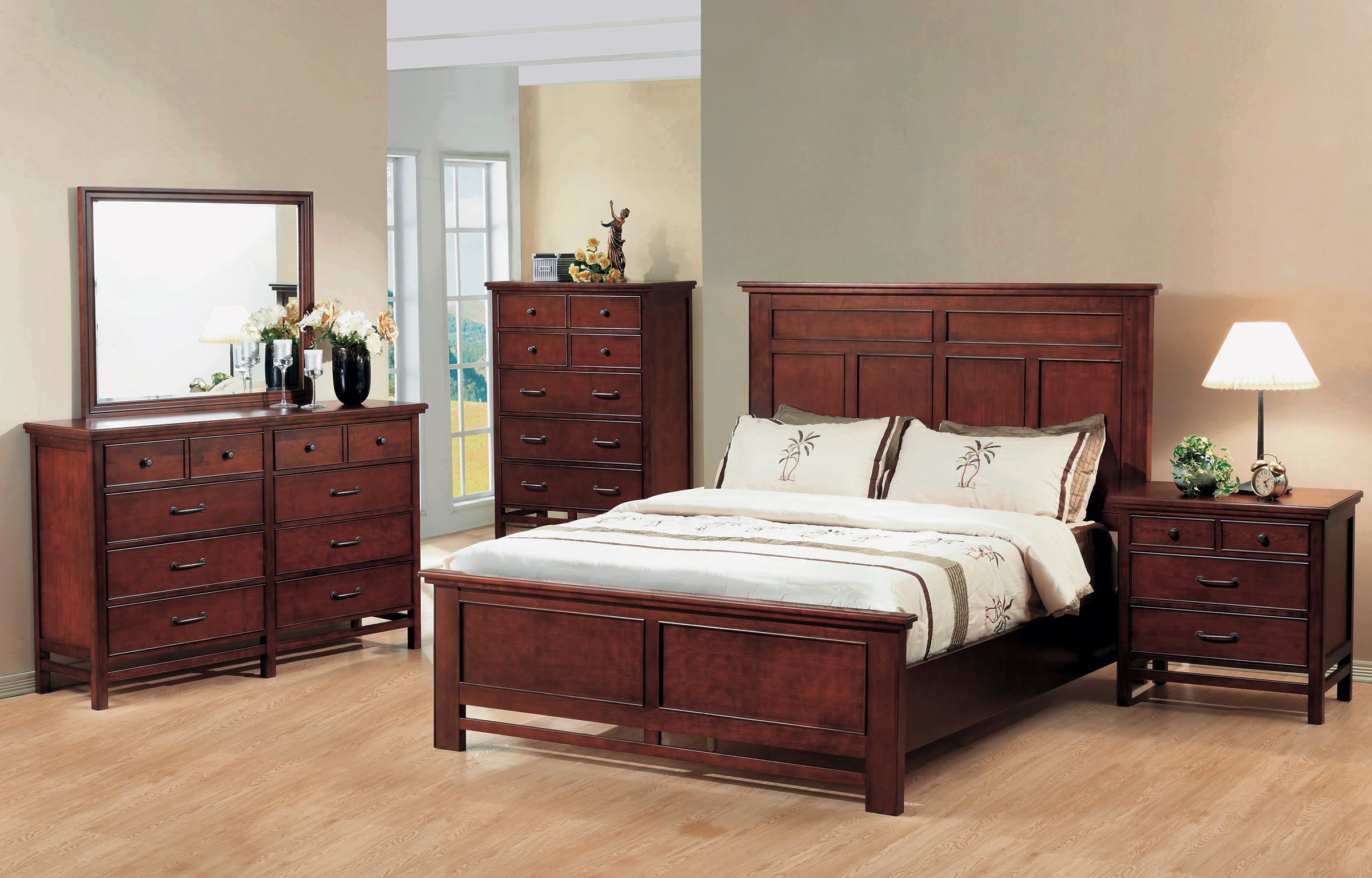 Master bedroom furniture  The Willow Creek collection is elegant in its simplicity  Bedroom