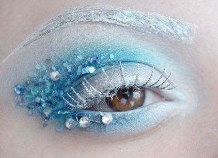 Make Up Is An Art Ice Princess Fantasy Makeup Makeup Designs