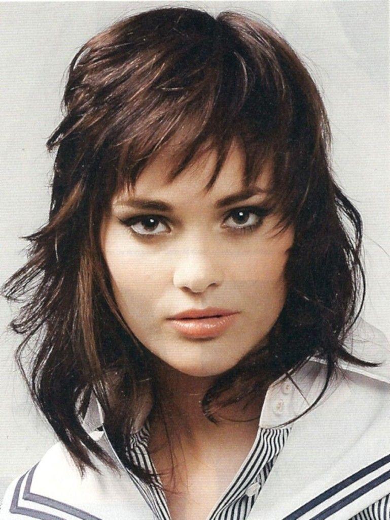 Best Medium Shaggy Haircuts For Women Hairstyles Pinterest