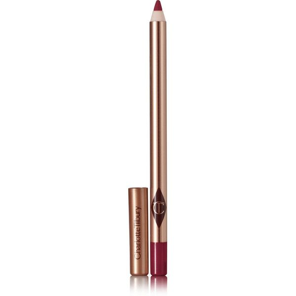 Charlotte Tilbury Lip Cheat Lip Liner - Crazy in Love (195 NOK) ❤ liked on Polyvore featuring beauty products, makeup, lip makeup, lip pencils, beauty and lips