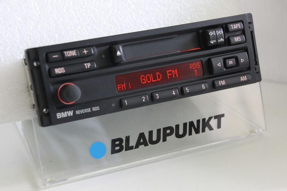 Bmw Blaupunkt Reverse Rds Tape Radio Player E28 E30 E31 E32