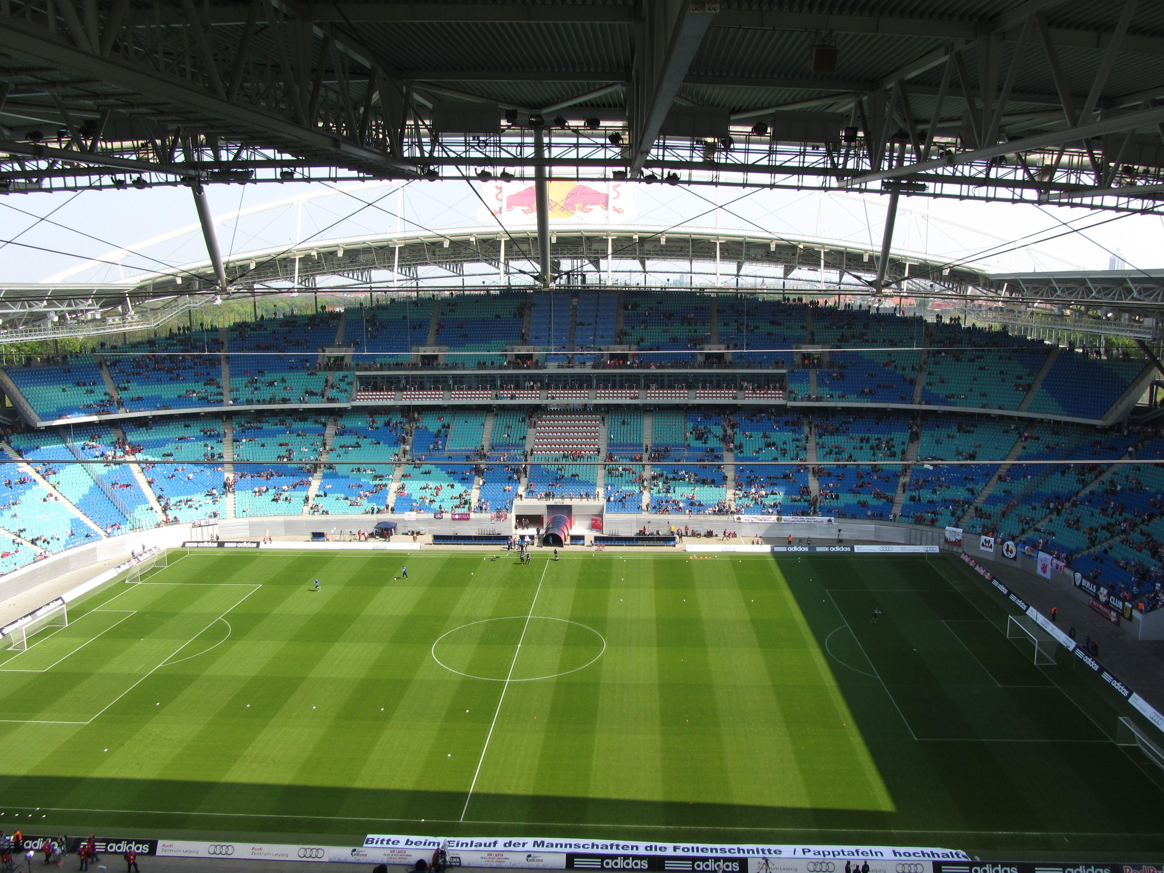 Red Bull Arena Leipzig Alemania Capacidad 44 199 Espectadores Equipo Local Rb Leipzig Estadios Del Mundo Estadio De Futbol Estadios