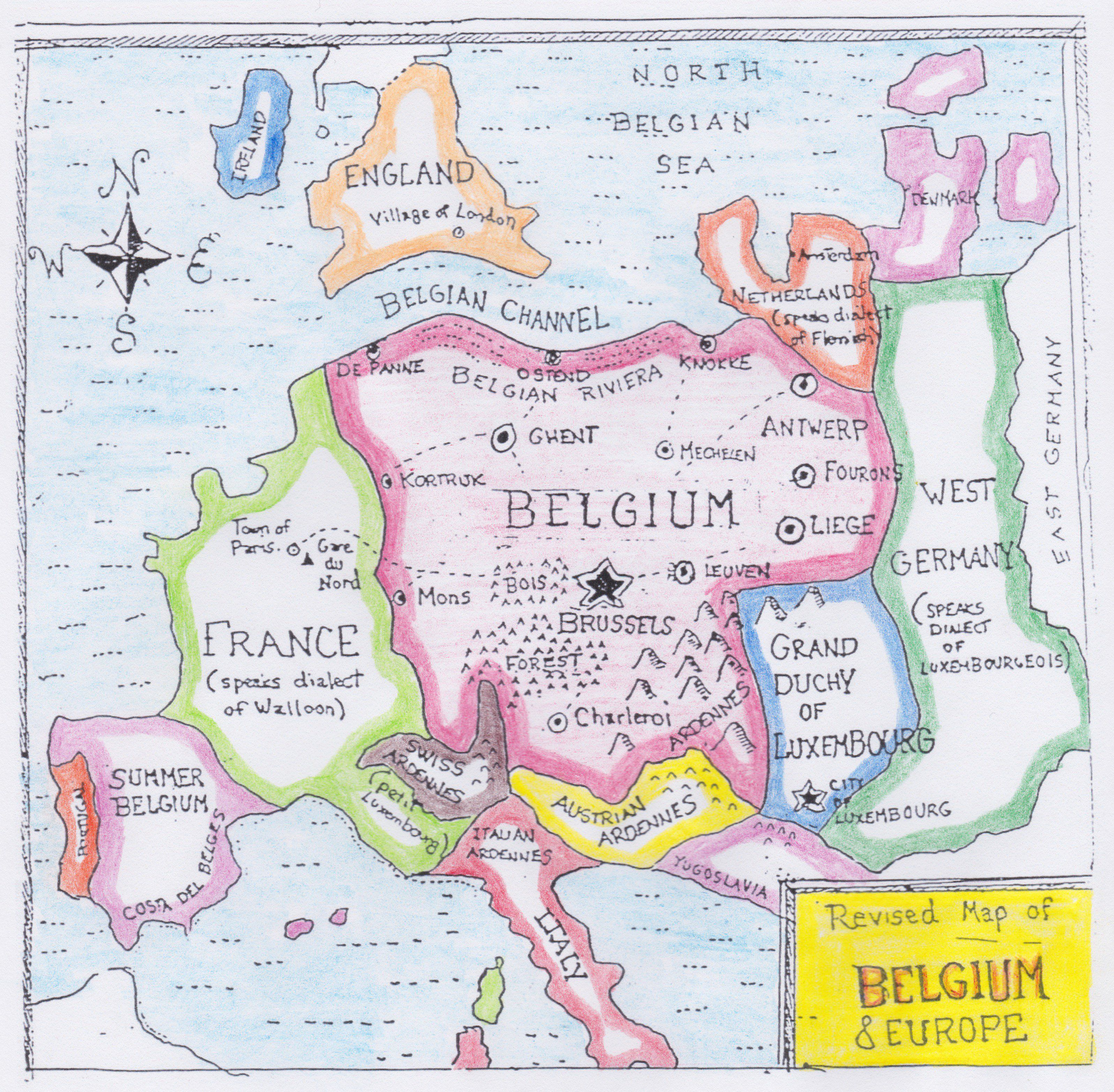 How Belgium Plans to Take Over Europe
