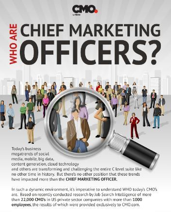 Profile Of A Chief Marketing Officer Infographic BBmarketing