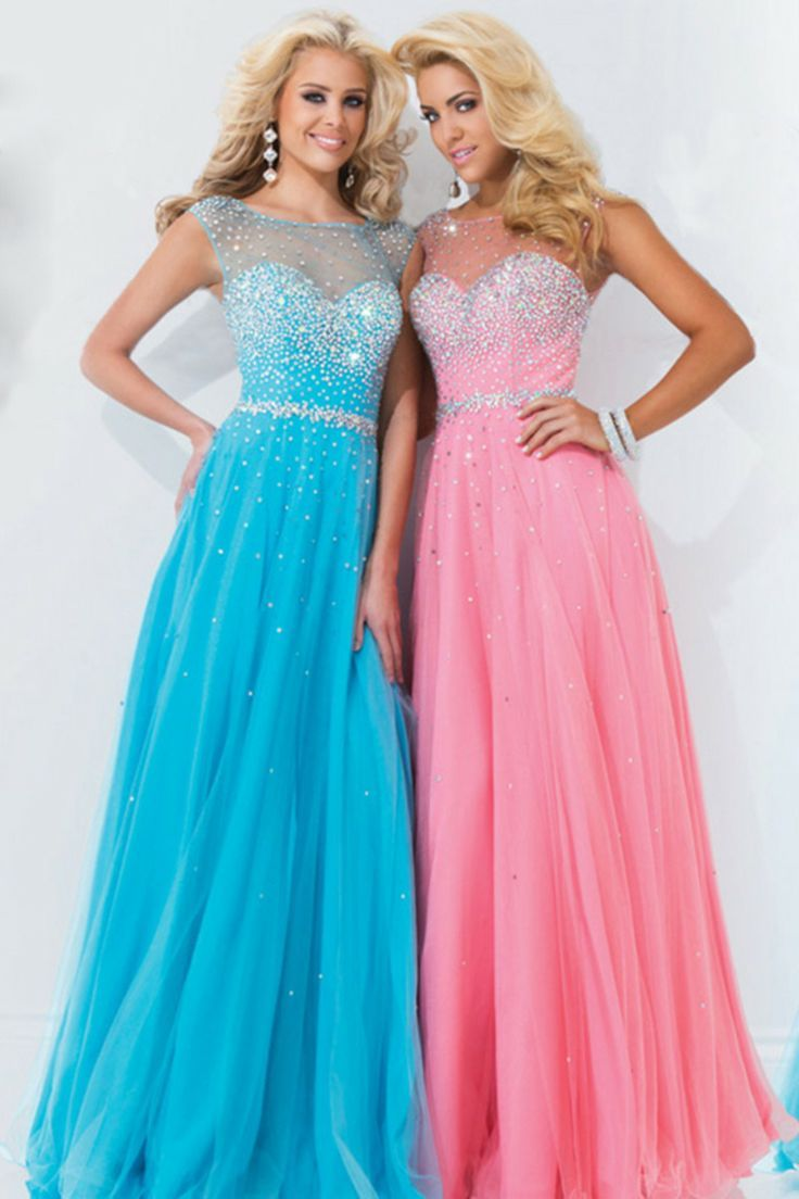 colorful prom dress, #long | Clothes! | Pinterest | Moda vestidos ...