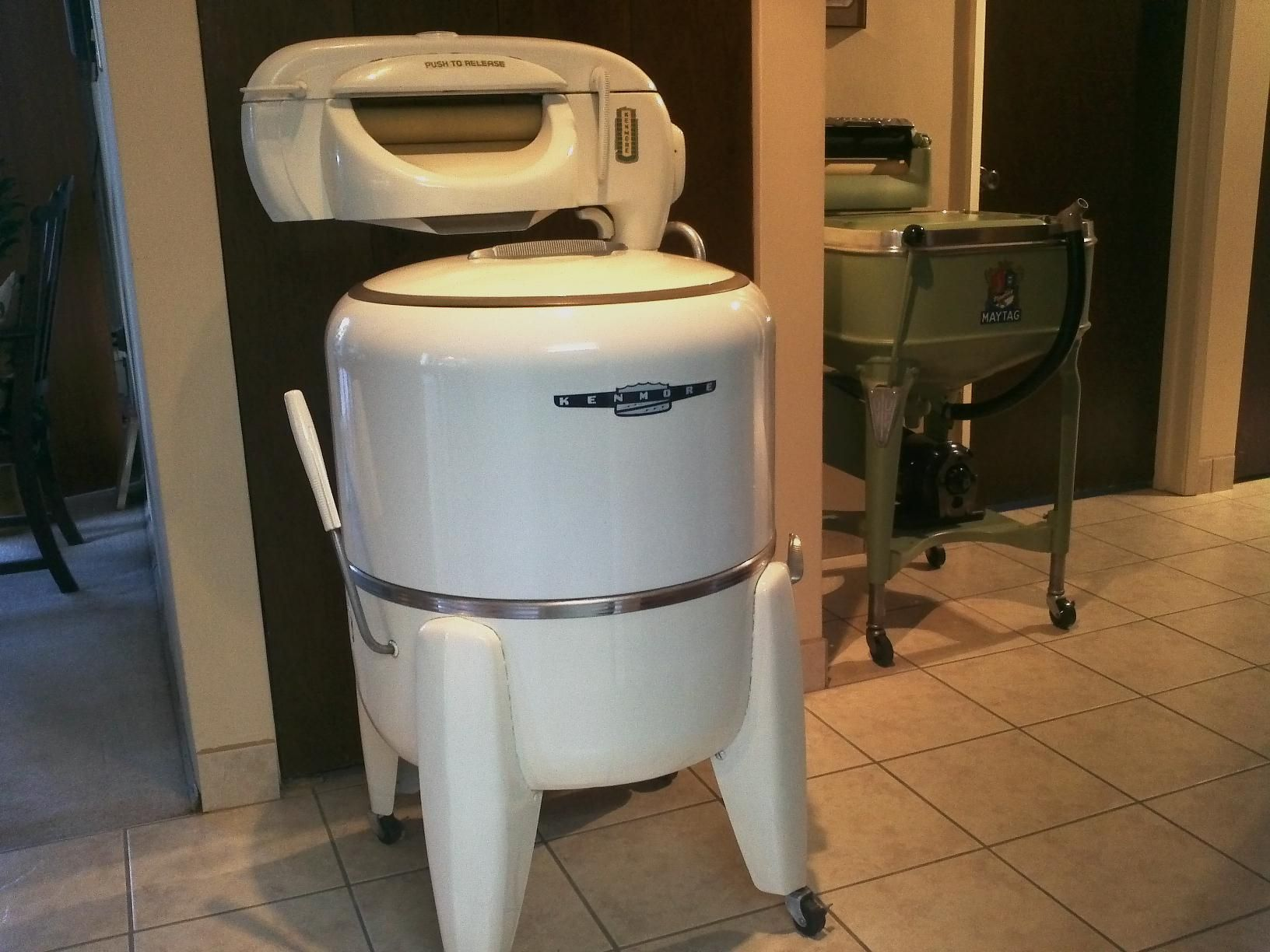 My 1948 Kenmore Wringer Washer Model 110 73230 W Pump Made