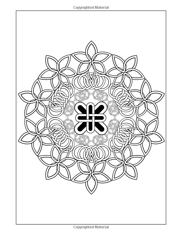 Coloring Books for Grownup: Celtic Mandala Coloring Pages ...