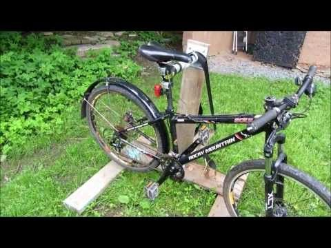 How To Build A Bicycle Repair Stand With Images Bike Repair
