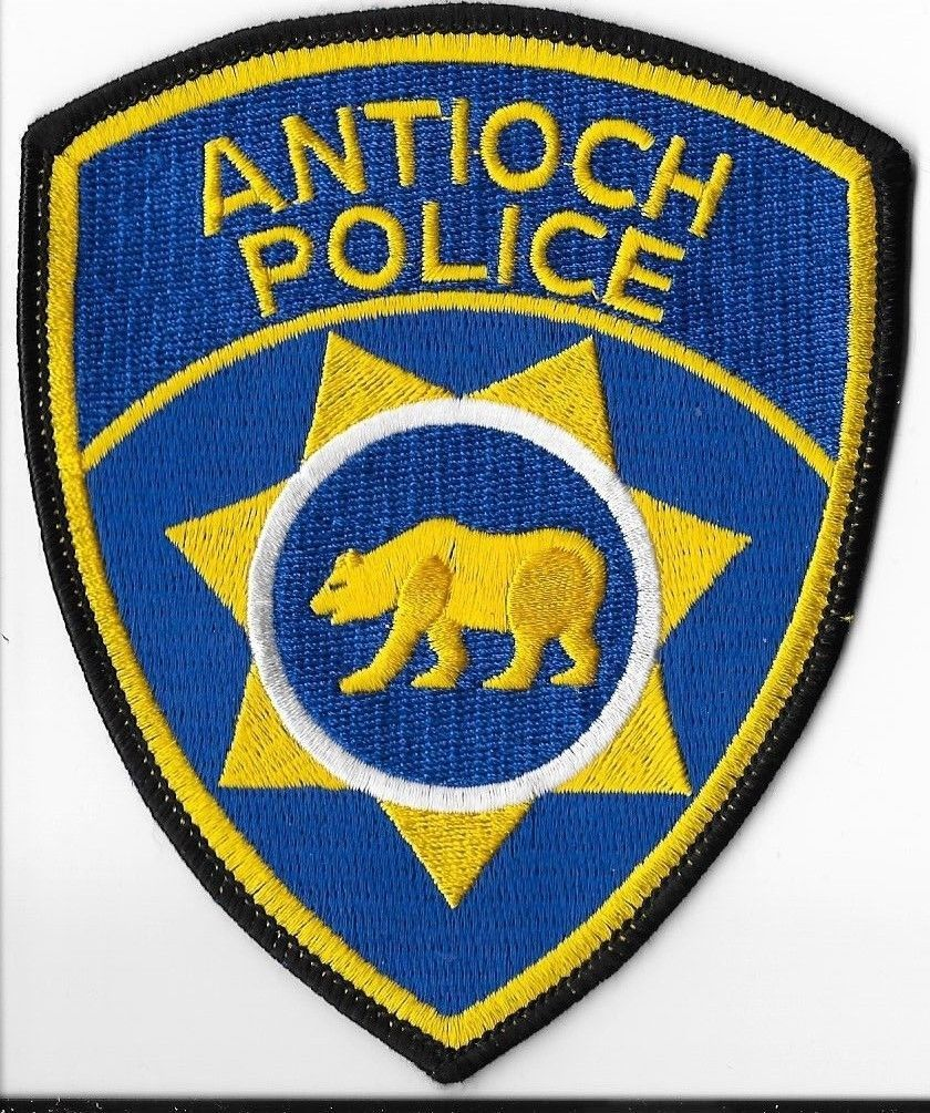 Antioch Police Department, California Shoulder Patch • $5 25