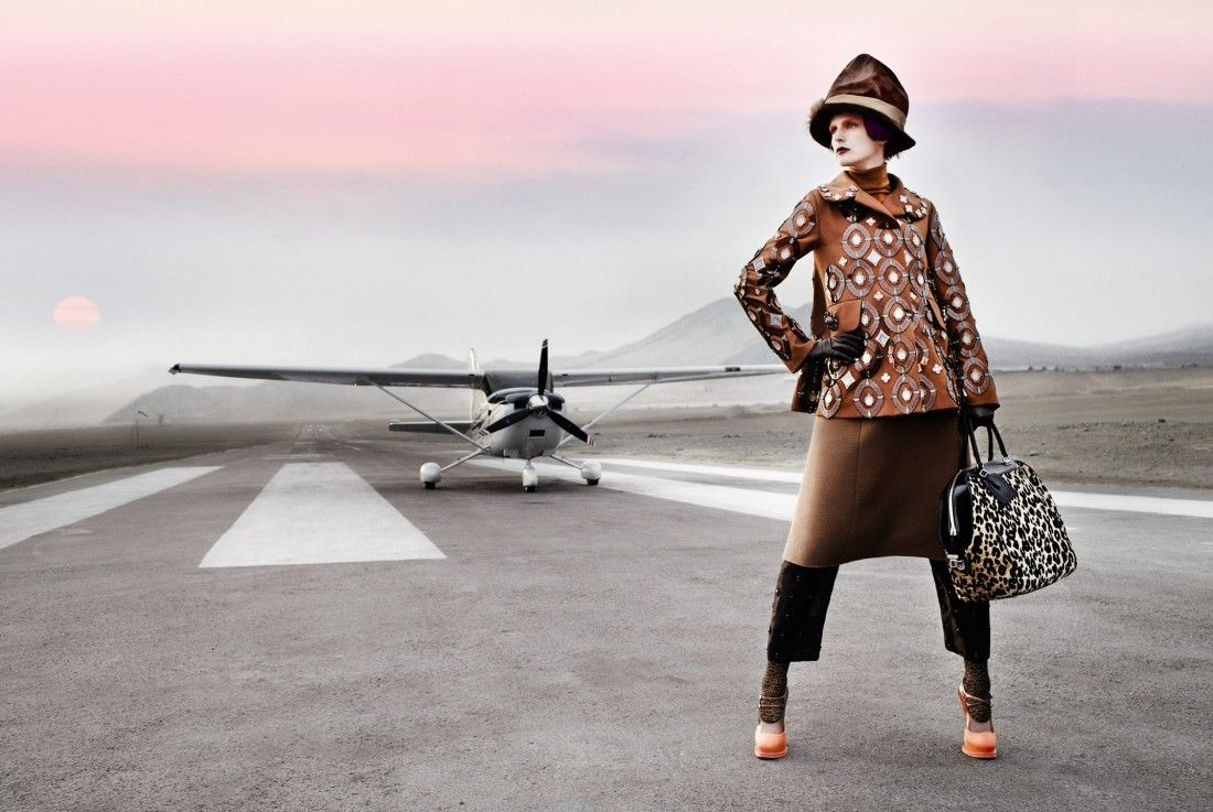American Vogue, Stella Tennant, El Dorado, September 2012 | Mario Testino Fashion Photography