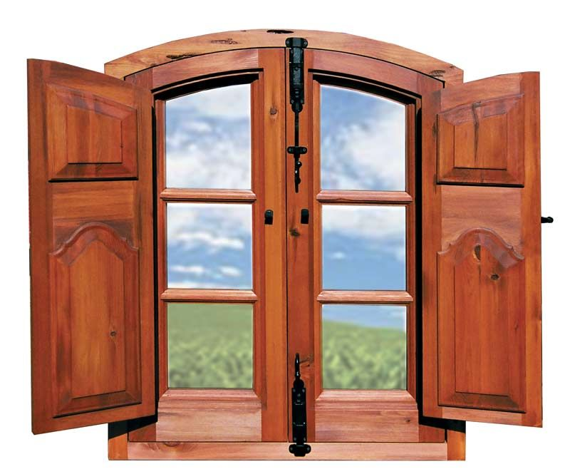 Wood Windows: Build Wood Window Shutters