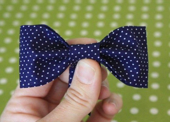 bbd5cdaf327e made these no-sew bow ties last minute for #easter. | To Make | Bow ...
