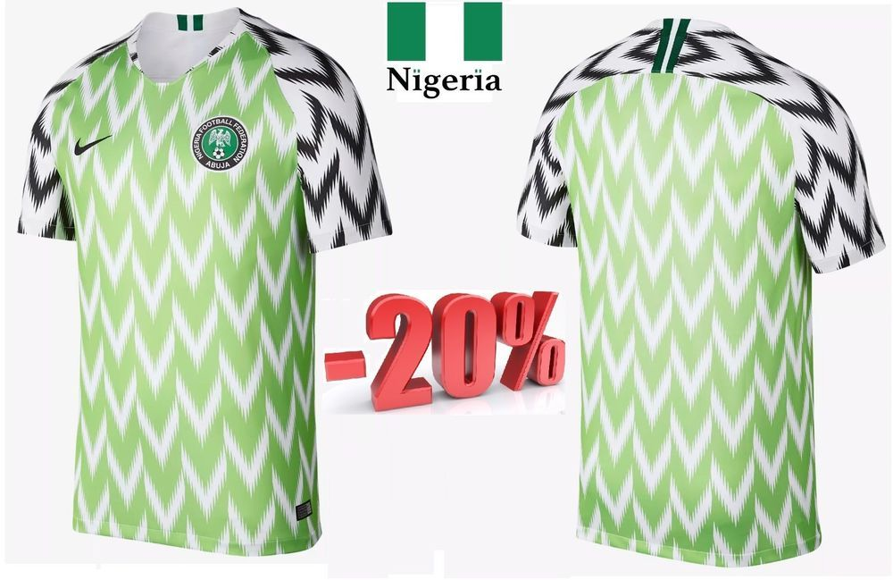 finest selection d5dd0 ac231 Details about NIGERIA Home World Cup 2018 Name Set Mikel ...