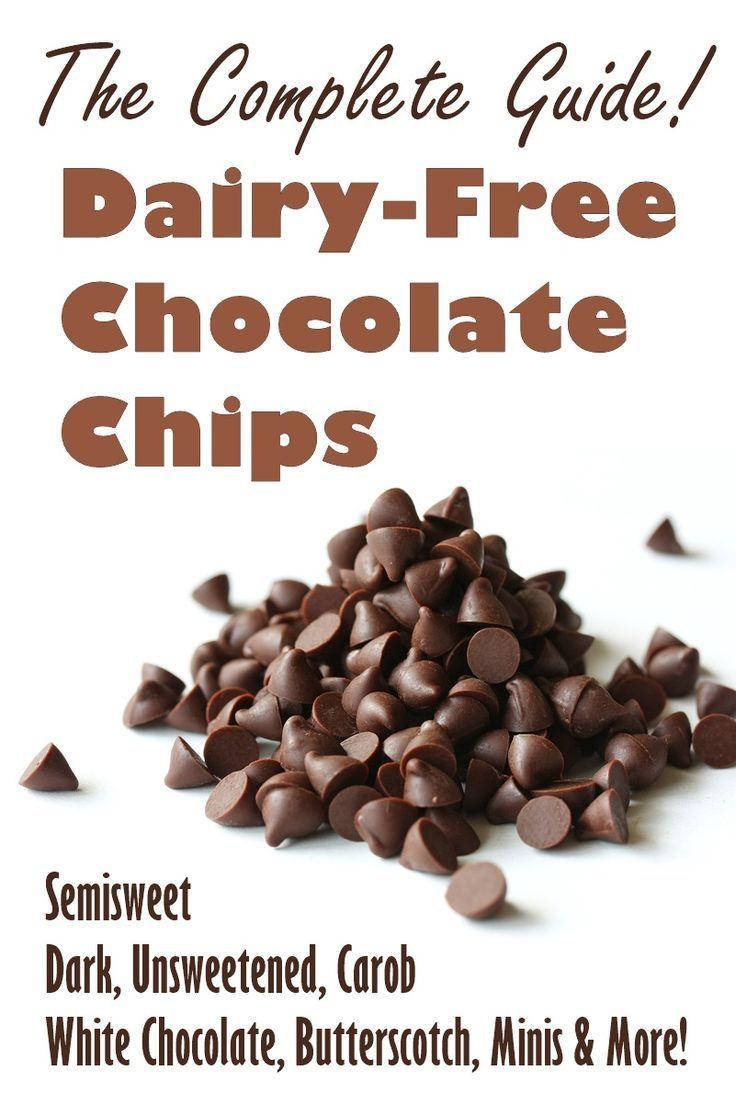 DairyFree Chocolate Chips Guide (Vegan, White