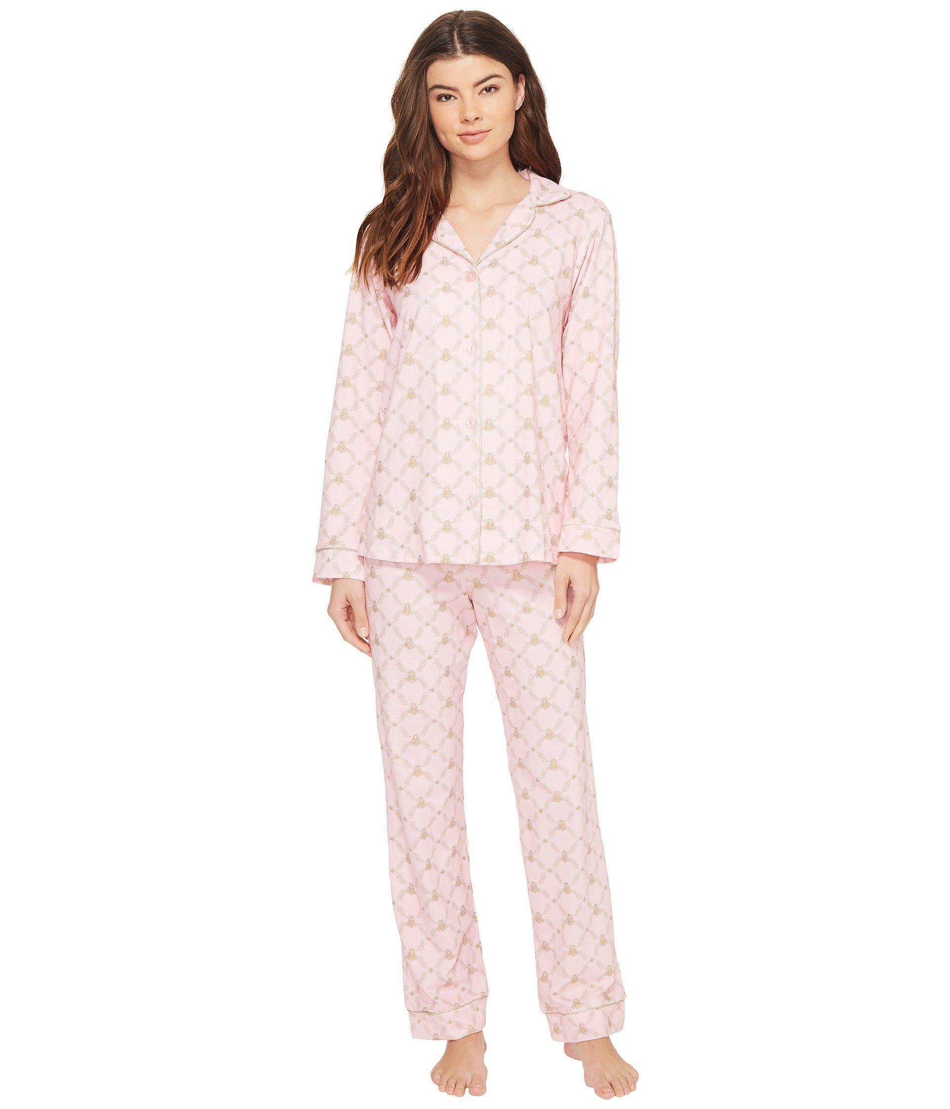 BedHead Womens Long Sleeve Classic Notch Collar Sleepshirt