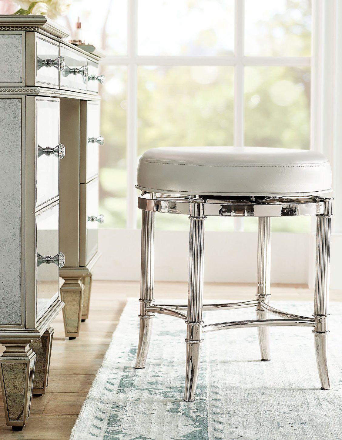 Bailey Swivel Vanity Stool Frontgate Vanity Stool Stool Vanity Chair