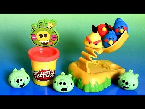 Play Doh Angry Birds Build 'n Smash Game From Rovio ...