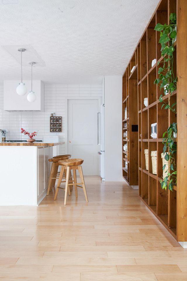 Best Diy Wood Shelving Wall A Beautiful Mess Wood Shelves 400 x 300