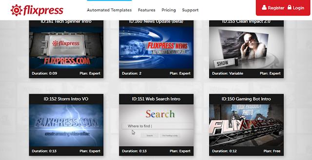 افضل موقع لعمل انترو بشكل احترافي مجانا من خلال موقع Filxpress Intro Templates How To Plan