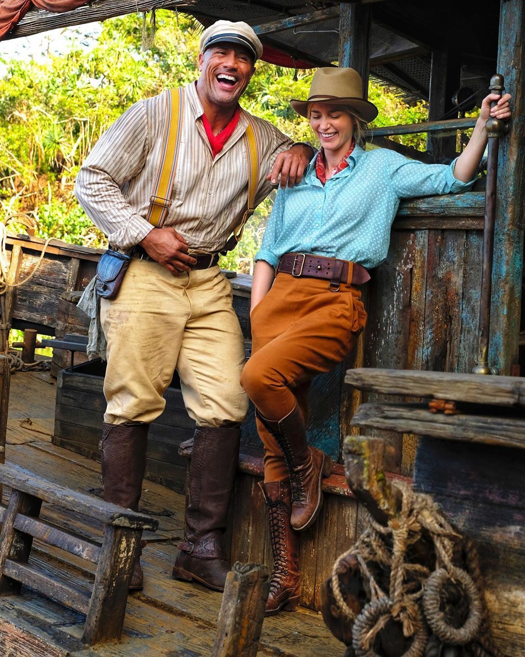 Happy Birthday to my dear friend and JUNGLE CRUISE co-star - and one of the  most talented actors of our gene… | Dwayne johnson, The rock dwayne  johnson, Emily blunt