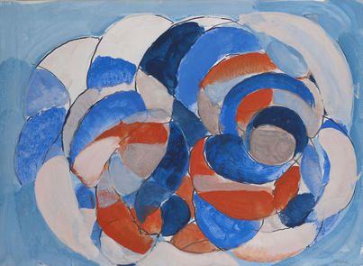 Gustav Bolin - Bleu, Blanc, Rouge #gallery #art #abstraction #paris #pfgarcier