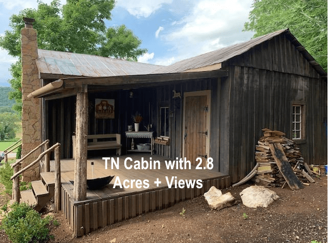 Under 100k Sunday C 1900 Tn Cabin For Sale W 2 8 Rural Acres Gorgeous Views Under 85k Old Houses Under 50k Cabins For Sale Old Houses Acre