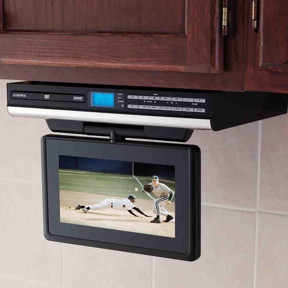 Under Cabinet Dvd Player Tv In Kitchen Dvd Cabinets