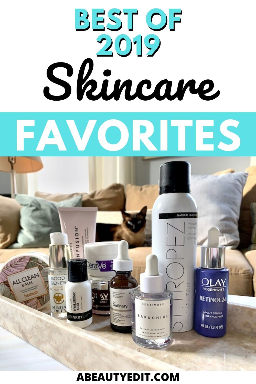 Best Of 2019 Skincare Favorites A Beauty Edit In 2020 Dry Skin Care Favorite Skincare Products Skin Care