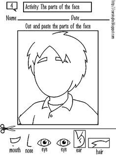 face parts coloring pages - photo#21