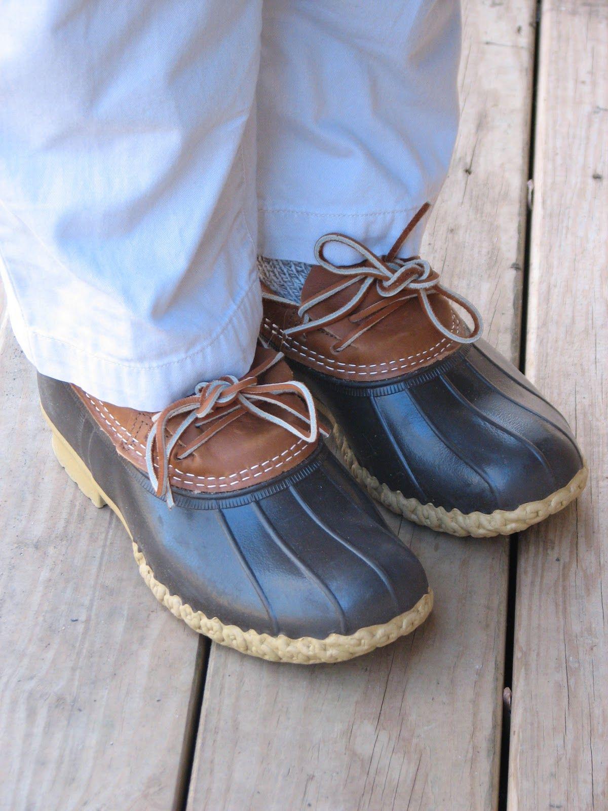 L.L. Bean Boots, Rubber Mocs   Bean