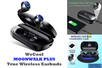 Wecool Moonwalk Plus True Wireless Earbuds Review Wireless Earbuds Earbuds