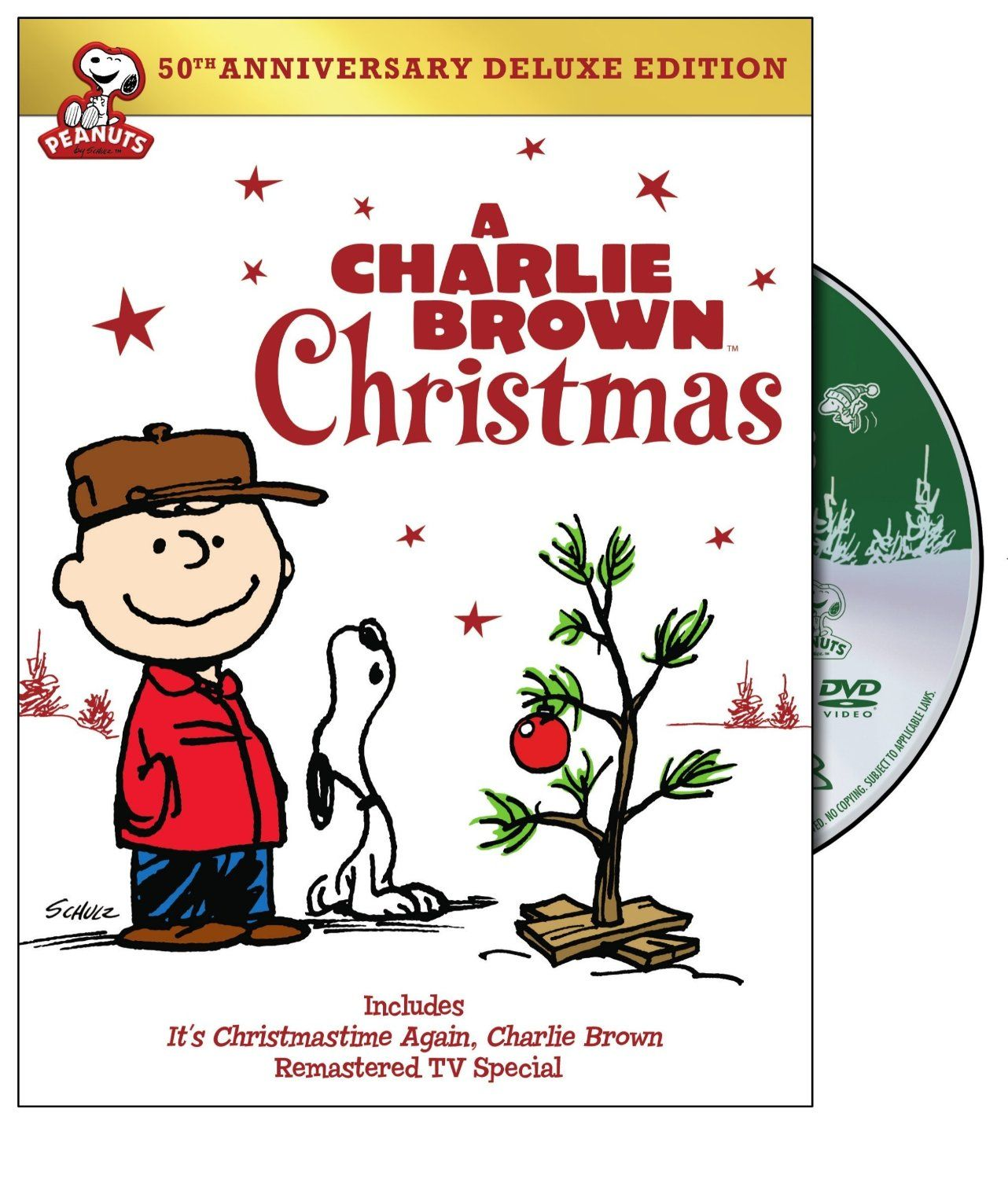 Amazon.com: Charlie Brown Christmas 50th Anniversary, A: Deluxe ...