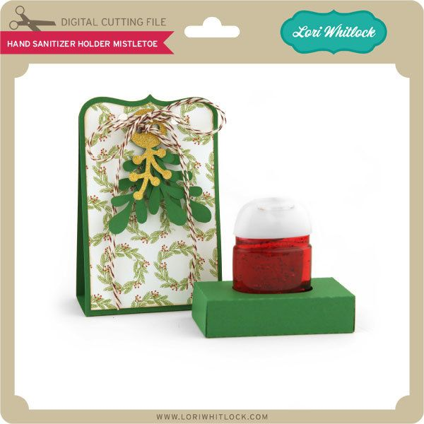 Hand Sanitizer Holder Mistletoe Hand Sanitizer Holder Hand
