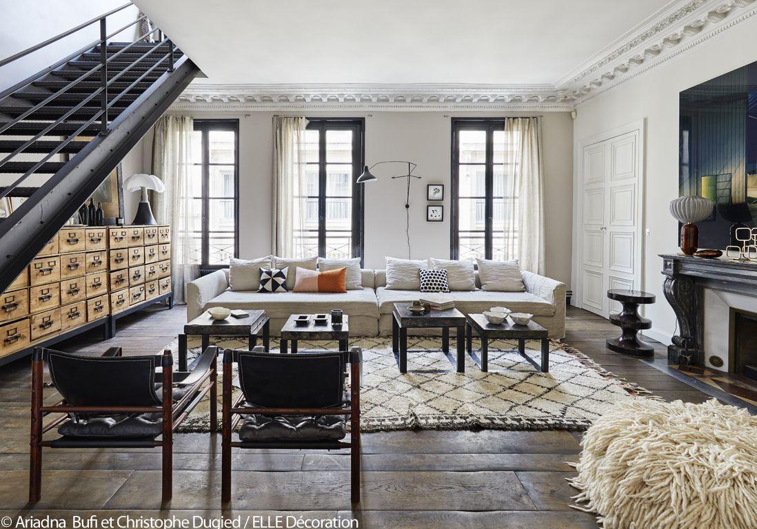 Salon esprit atelier | appartement | Pinterest | Space place, Salons ...