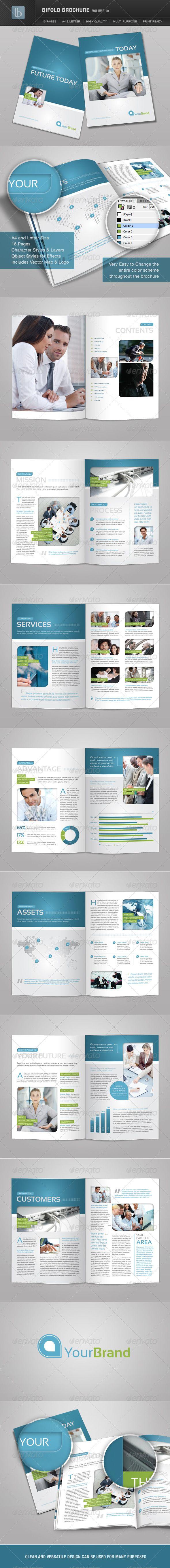 Bifold Brochure  Volume   Brochures Brochure Template And