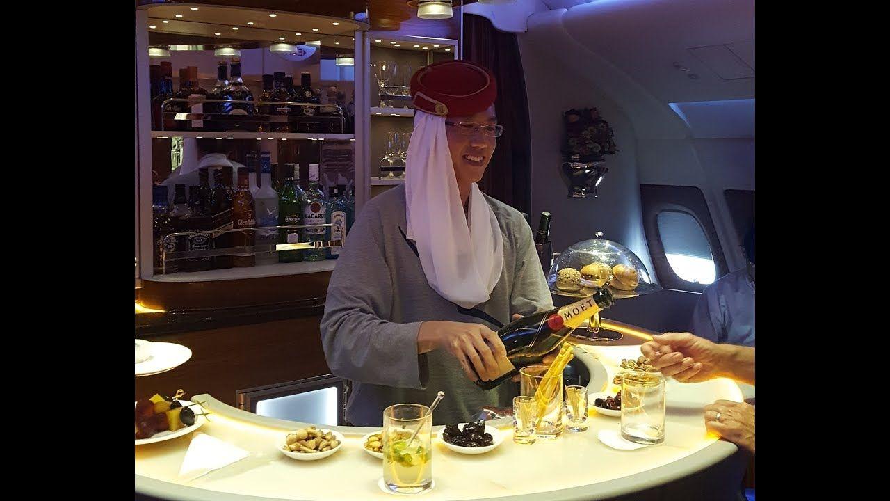 Emirates Business Class Dubai To Sydney Ek 414 Airbus A380