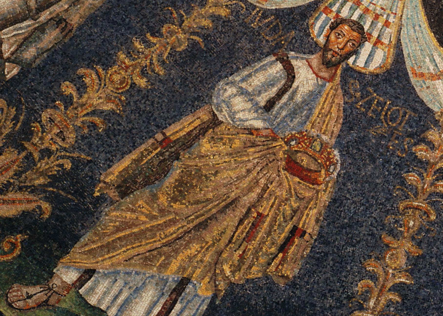 Апостол Иуда Зилот. Купол; Италия. Равенна; V в ...