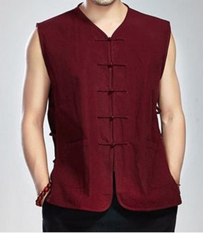 119c0b0c3f Traditional Chinese Tang Fu Mandarin jacket Top Men Kung Fu Tai Chi ...